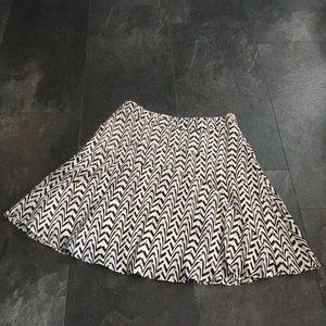 Reiss Chevron Pattern Skirt size 6